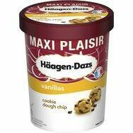 HÄAGEN-DAZS Cookie dough chip 500ml