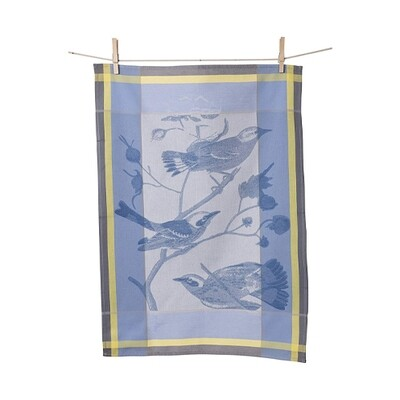 KAF Home Kitchen Towel Blue Birds