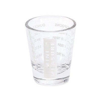 Mini Measure White 1 Ounce Measuring Cup