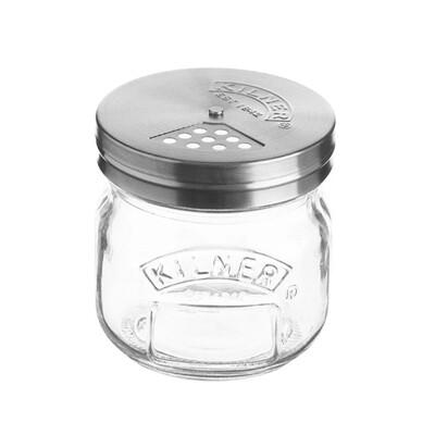 Kilner Storage Jar with Stainless Steel Shaker Lid - 250ml