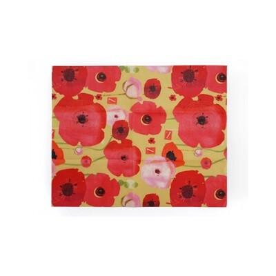 Z Wraps Medium - Painted Poppies