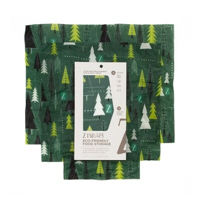 Z Wraps Multi-Size 3 Pack - Trees
