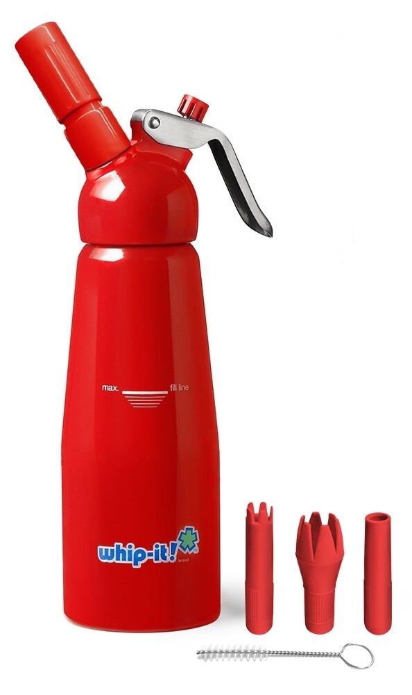 Whip-it! 1/2L Cream Whipper RED
