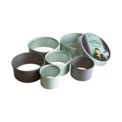 Jamie Oliver Set of 5 Round Cookie Cutters