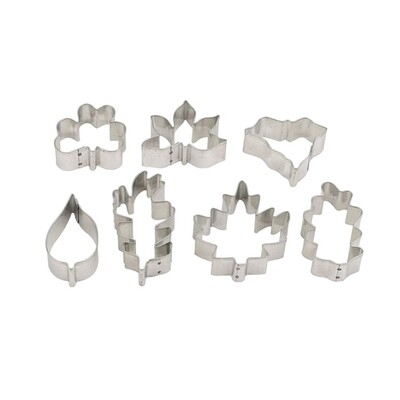 Mrs Anderson's Leaf Shape Cookie Cutters Set of 7