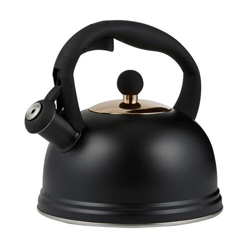 Typhoon Stove Top Kettle - Black 60oz