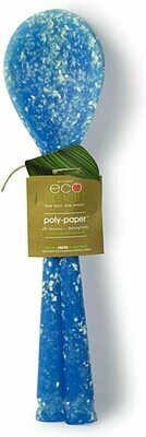 Eco-Smart Poly-Paper Set of 2 Serving Spoons Blue