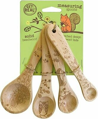 Talisman Set of 4 Measuring Cups - Woodland