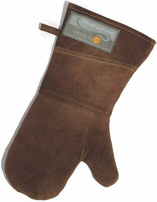 Leather BBQ/Grill Mitt - 15