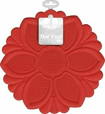 Talisman Hot Pad & Trivet - Red