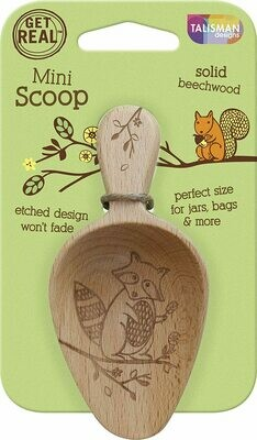 Talisman Beechwood Mini Scoop - Woodland