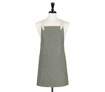 KAF Home Apron - Chambray Green