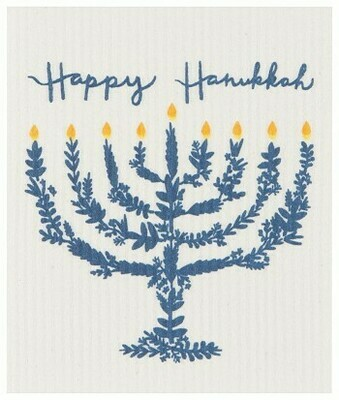 Ecologie Swedish Dish Cloth - Happy Hanukkah