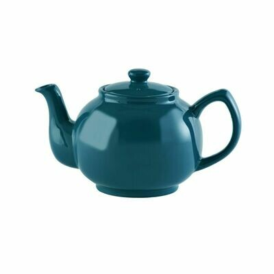 Price & Kensington 6 Cup Teapot - Teal Blue