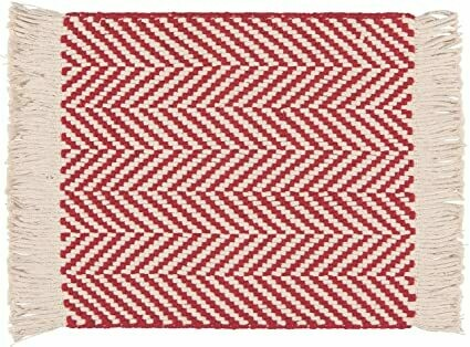 Now Designs Harris Placemat - Chili