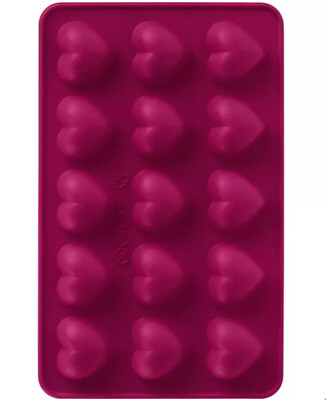 Trudeau Silicone Molds: Pack of 2 - Hearts