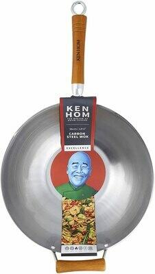 Ken Hom Carbon Steel Wok - 14