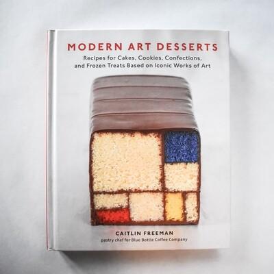 Modern Art Desserts - by Caitlin Freeman