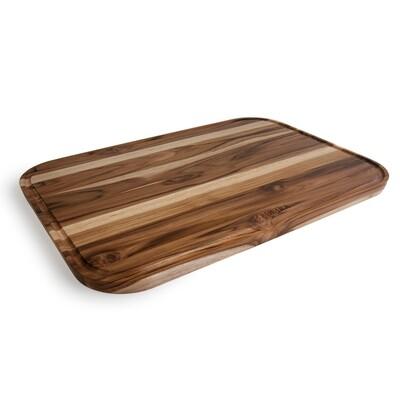 Madeira Cutting Board - Teak Edge Grain XL with Juice Groove