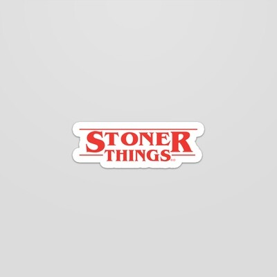 Stoner Things Sticker