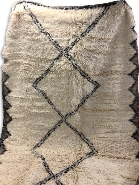 Handmade Beni Ourain Moroccan Rug