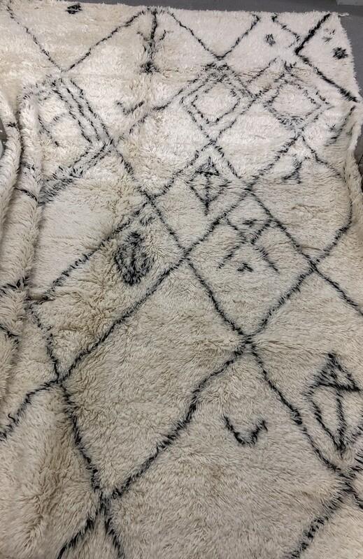 Handmade Beni Ourain Wool Rug