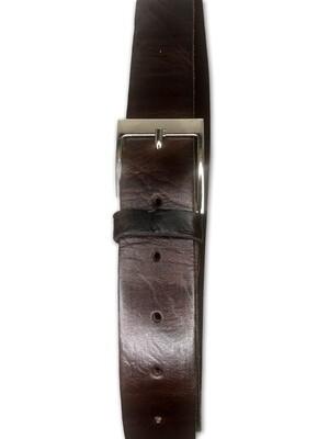 Men's Handmade Moroccan Brown Leather Belt