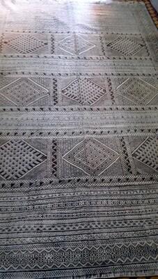 Handwoven Moroccan Berber Tiflet Tiffany Kilim Rug