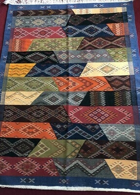 Handwoven Taznakt Berber Moroccan Rug 150 x 110cm