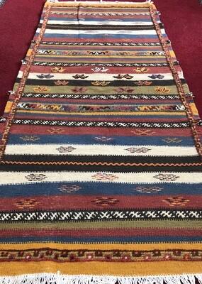 Handwoven Taznakht Berber Glaoui Moroccan Rug 160 x 70cm