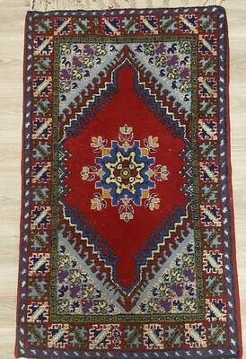 Handwoven Moroccan Rabat Rug 149 x 83cm