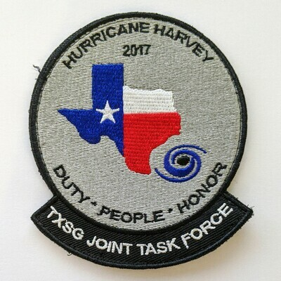 HURRICANE HARVEY MISSION PATCH