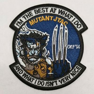 MUTANT JTAC OEF 14' PATCH