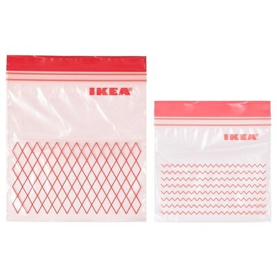ISTAD ASSORTED RESEALABLE BAG