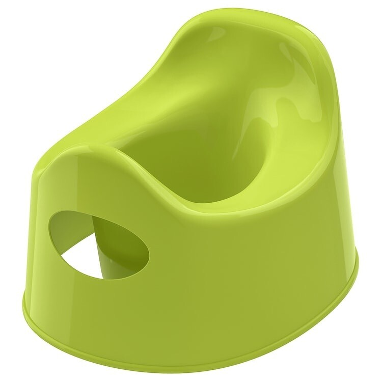 LILLA CHILDREN'S POTTY GREEN
