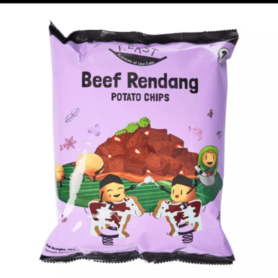 F.EAST BEEF RENDANG POTATO CHIPS
