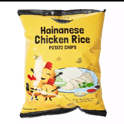 F.EAST HAINANESE CHICKEN RICE POTATO CHIPS