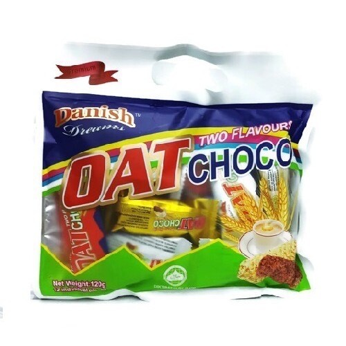 DANISH OAT CHOCO TWO FLAVOURS 70G