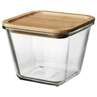IKEA 365+ FOOD CONTAINER WITH BAMBOO LID