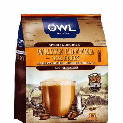 OWL 3 IN 1 INSTANT WHITE COFFEE TARIK - ORIGINAL