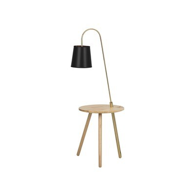 ALONSO FLOOR LAMP / SIDE TABLE