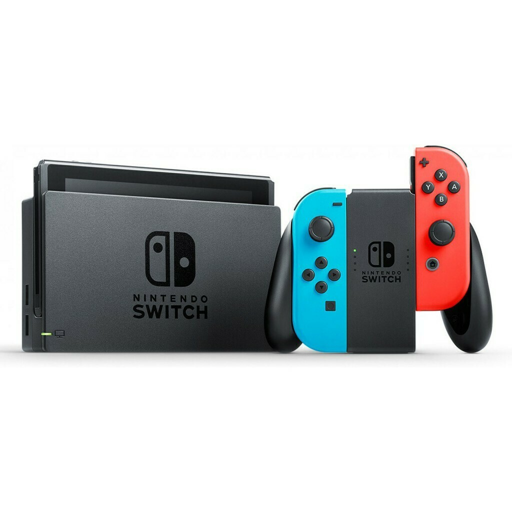 NINTENDO SWITCH GEN 2 CONSOLE + BEST SELLING GAME
