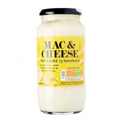 Sainsbury's Pasta Bake Sauce Macaroni Cheese