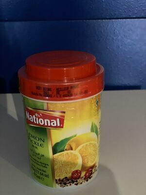 NATIONAL LEMON PICKLE IN OIL 500 GM