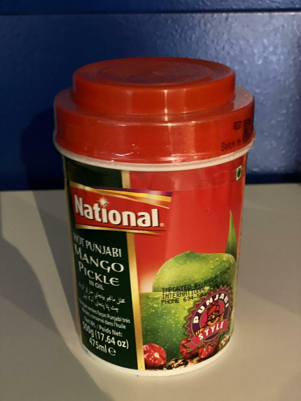 NATIONAL MANGO PICKLE IN OIL 1 KG