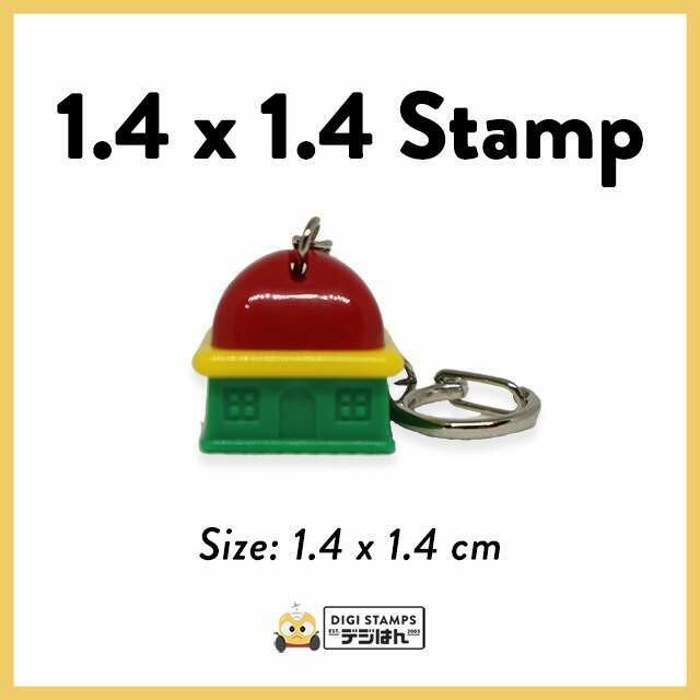 1.4 x 1.4 Custom Stamp
