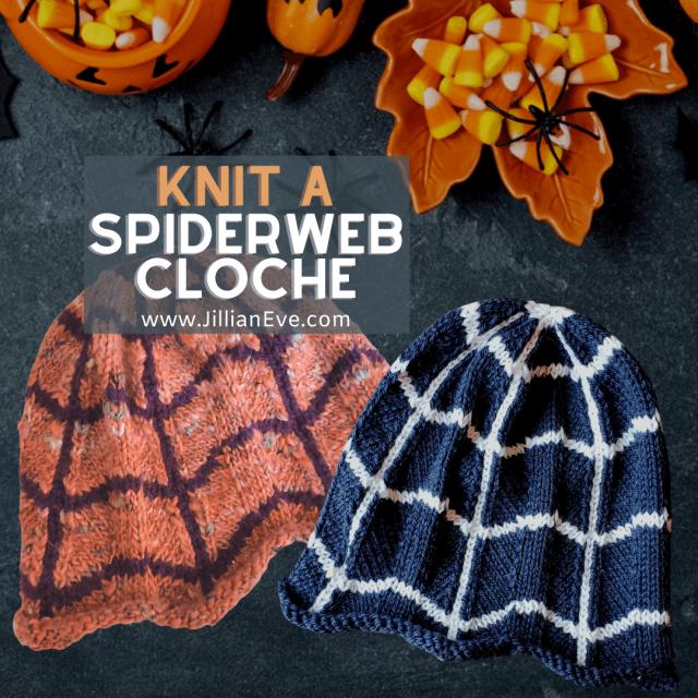 Spiderweb Cloche Hat Pattern