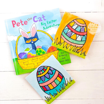 Pete the Cat-Easter Egg Tiles ~March 3rd •10:30-11:30am