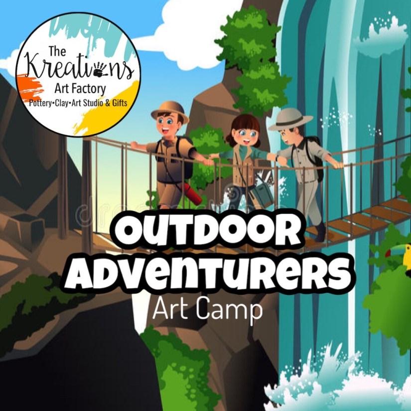 Outdoor Adventurers Art Camp: June 28th-30th