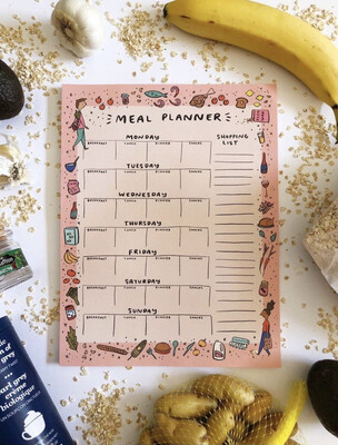 Weekly Meal Planner NotePad🥣